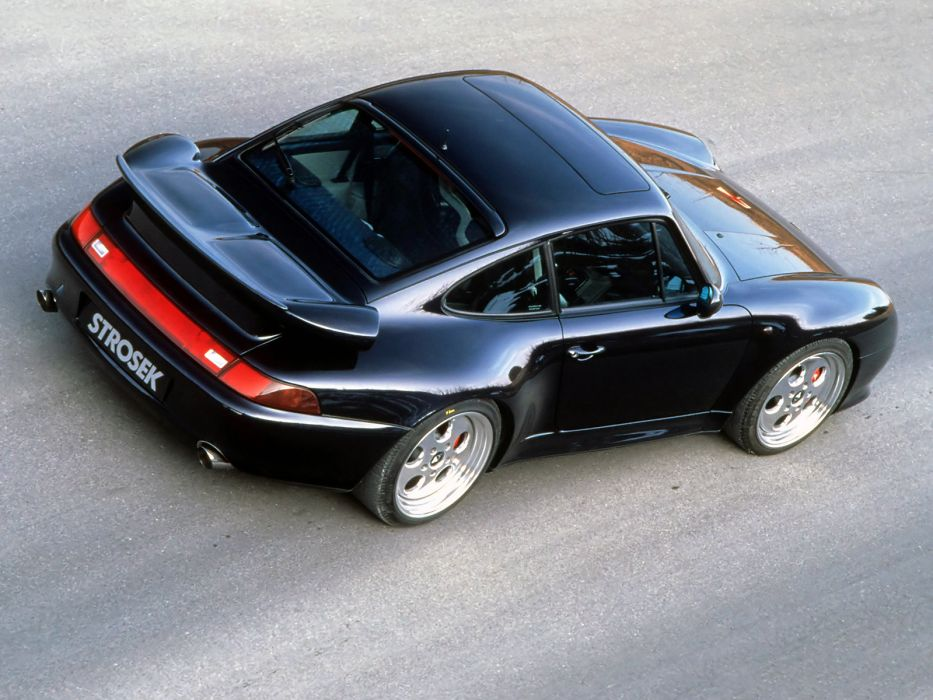 Porsche 911 Turbo (993) supercar tuning      f wallpaper