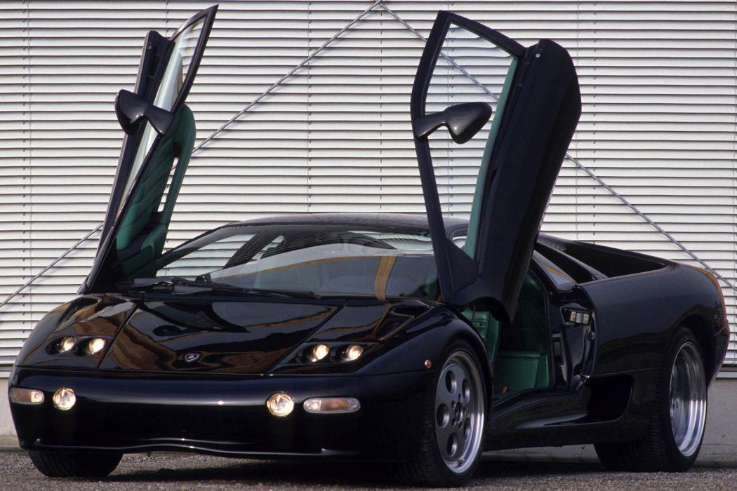Strosek Lamborghini Diablo supercar    t wallpaper