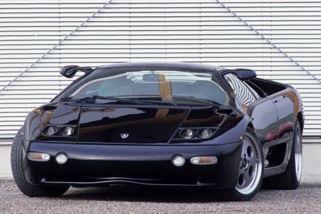Strosek Lamborghini Diablo supercar  r wallpaper