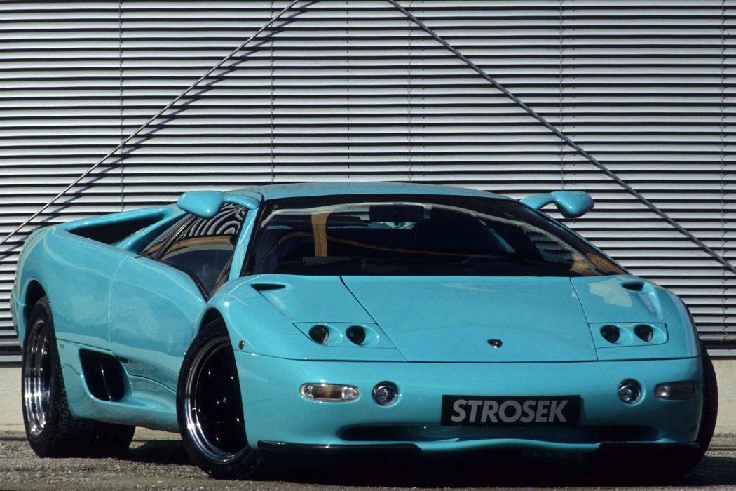 Strosek Lamborghini Diablo supercar   j wallpaper