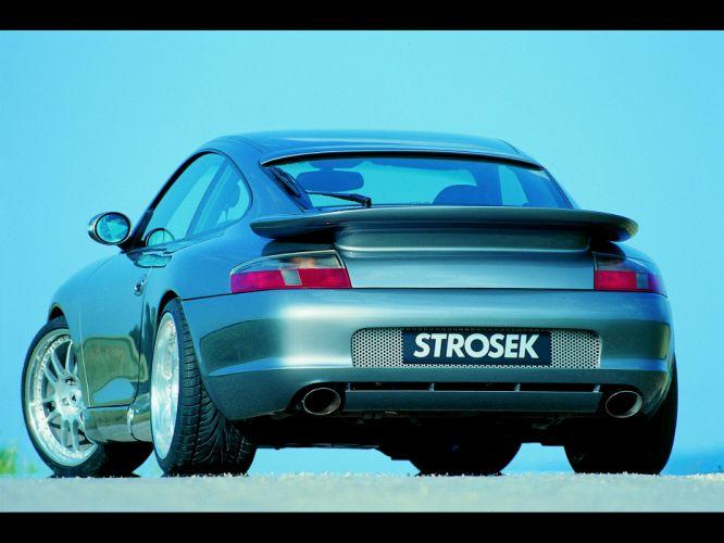 Strosek Porsche 996 911 Carrera supercar tuning f wallpaper