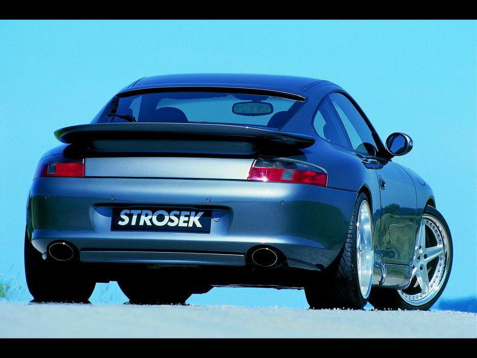 Strosek Porsche 996 911 Carrera supercar tuning    d wallpaper