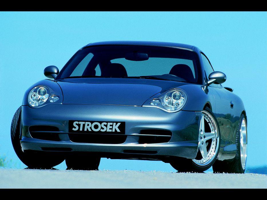 Strosek Porsche 996 911 Carrera supercar tuning   e wallpaper
