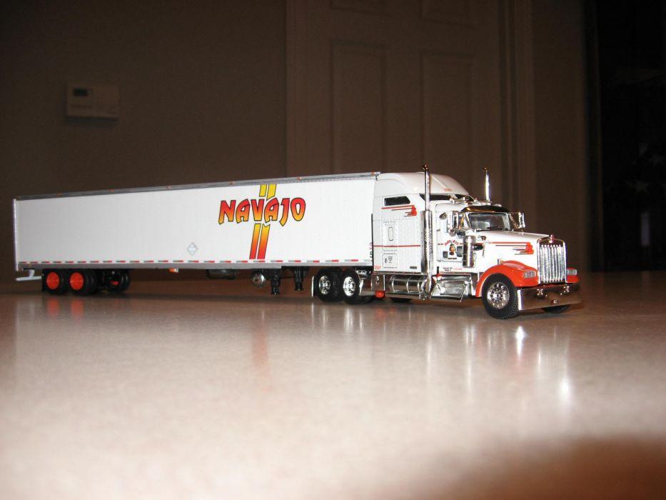 KENWORTH W900 semi tractor (20) wallpaper