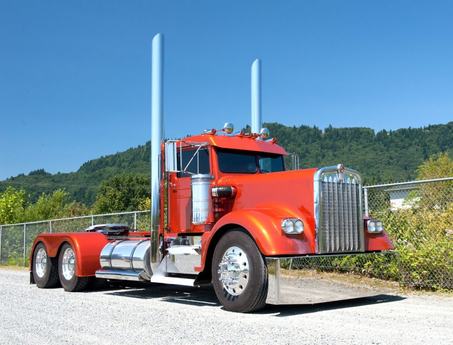 KENWORTH W900 semi tractor (42) wallpaper
