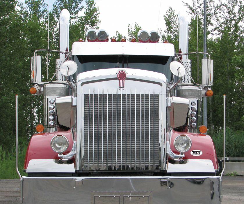 KENWORTH W900 semi tractor (62) wallpaper