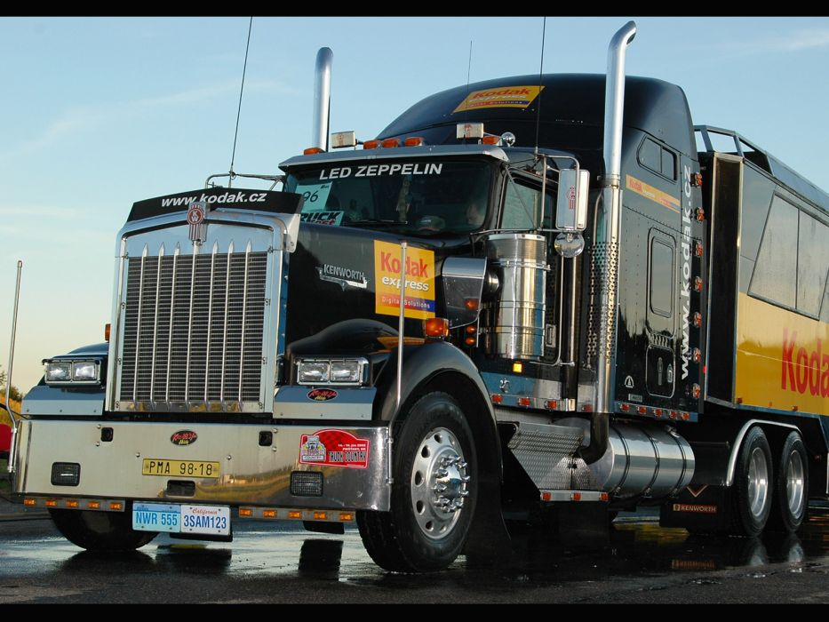KENWORTH W900 semi tractor (66) wallpaper