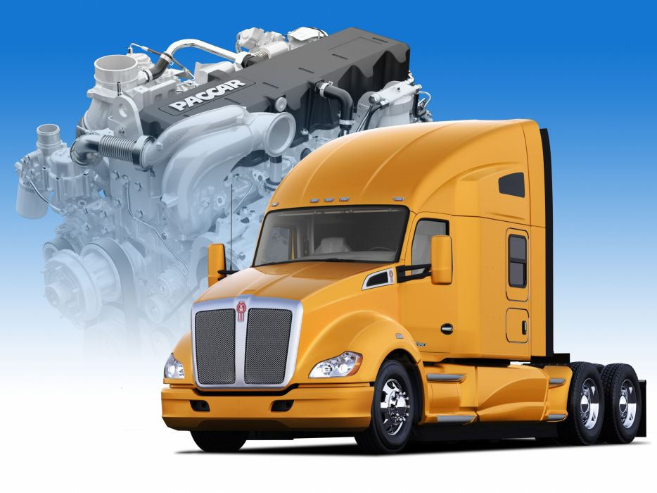 KENWORTH T680 semi tractor (27) wallpaper