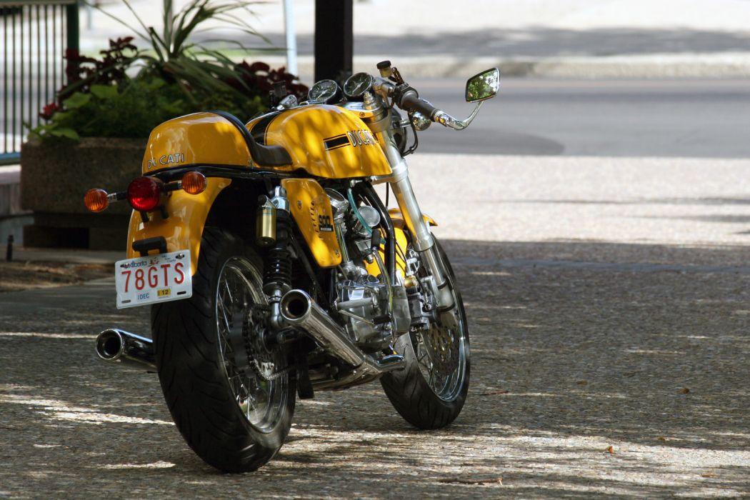 DUCATI 900 motorbike bike (4) wallpaper
