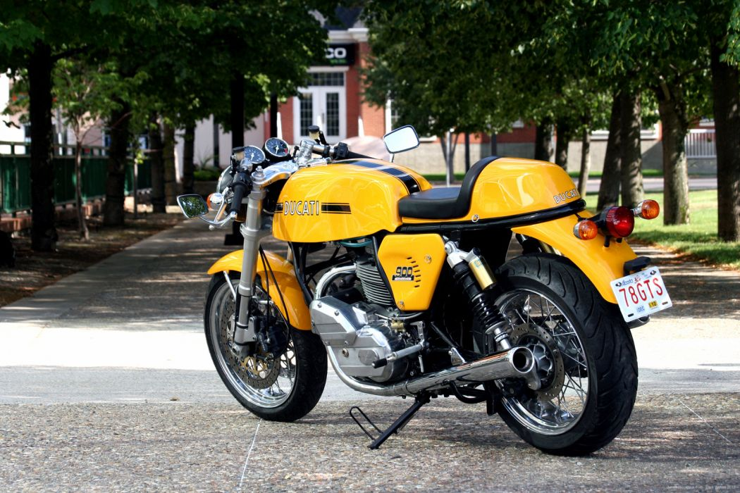 DUCATI 900 motorbike bike (5) wallpaper