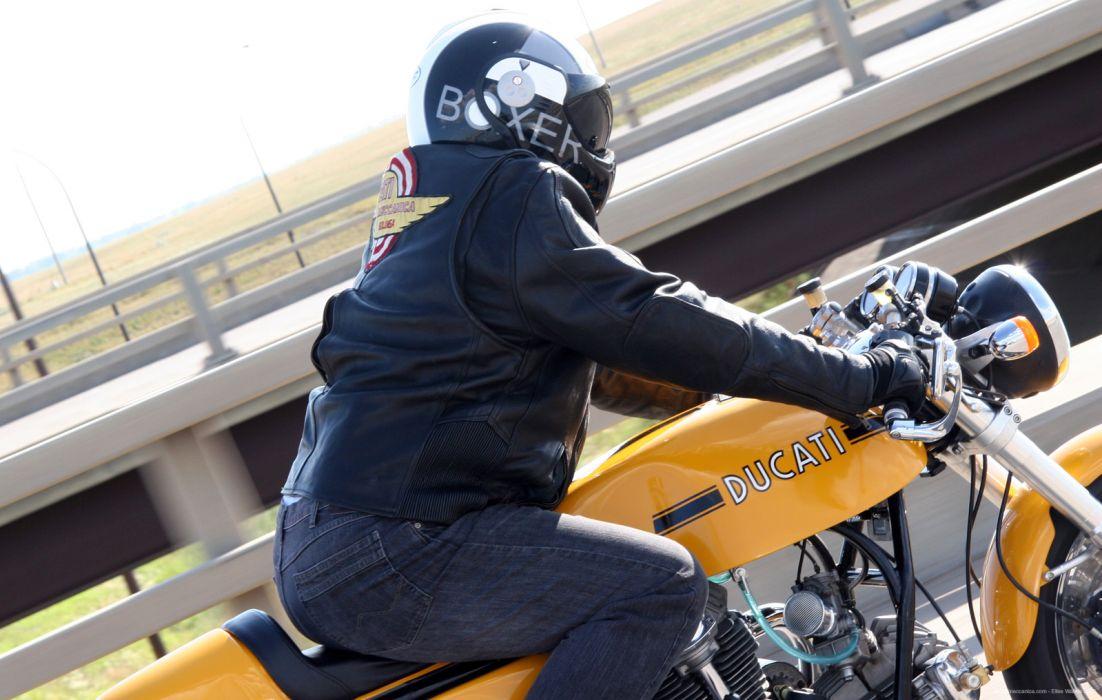 DUCATI 900 motorbike bike (14) wallpaper