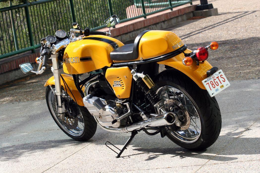 DUCATI 900 motorbike bike (22) wallpaper
