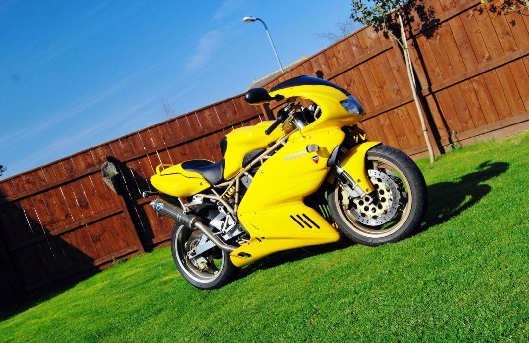 DUCATI 900 motorbike bike (2) wallpaper