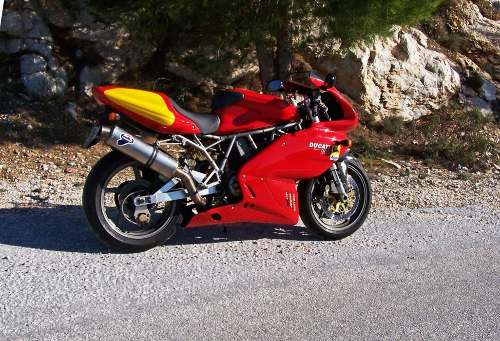 DUCATI 900 motorbike bike (34) wallpaper