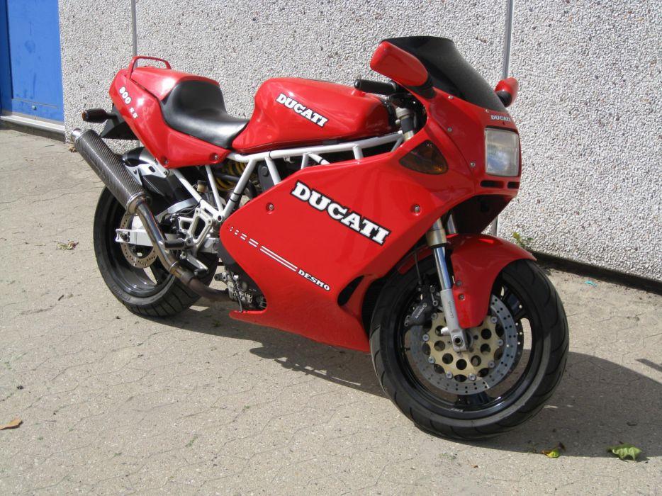 DUCATI 900 motorbike bike (48) wallpaper