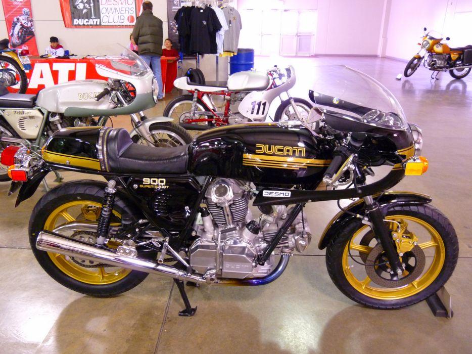 DUCATI 900 motorbike bike (47) wallpaper
