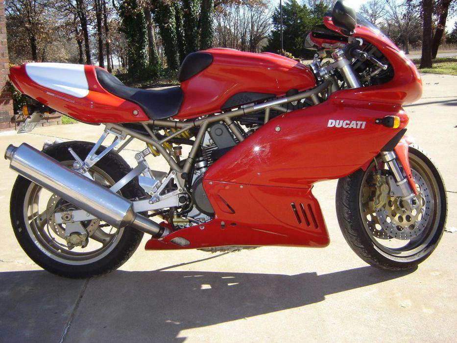 DUCATI 900 motorbike bike (57) wallpaper