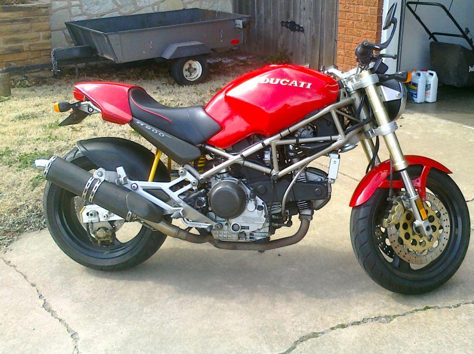 DUCATI 900 motorbike bike (66) wallpaper