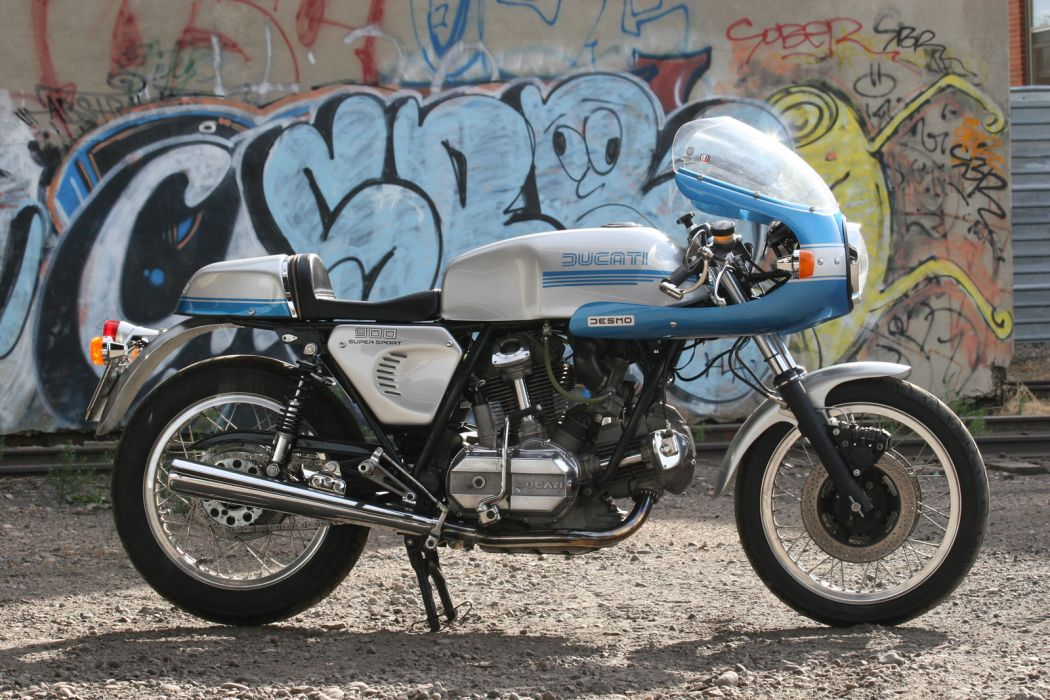 DUCATI 900 motorbike bike (81) wallpaper