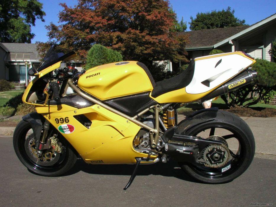 DUCATI 996 motorbike bike (1) wallpaper