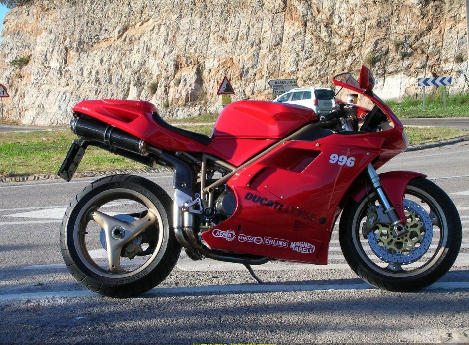 DUCATI 996 motorbike bike (65) wallpaper