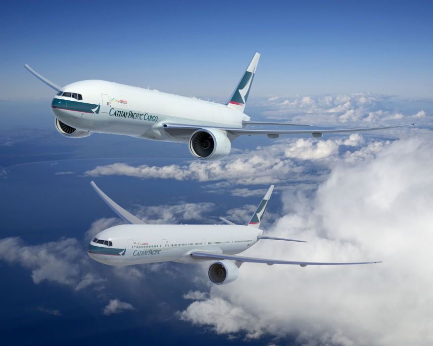 BOEING 777 airliner aircraft airplane plane jet (11) wallpaper