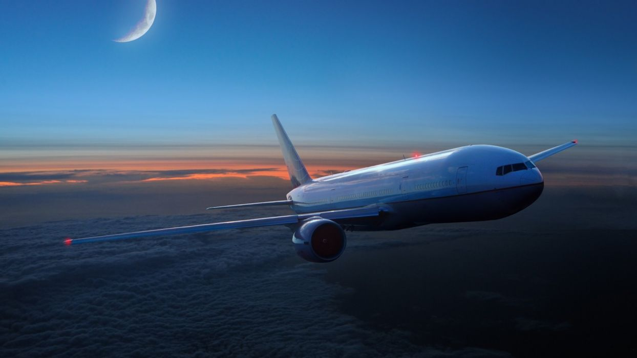 BOEING 777 airliner aircraft airplane plane jet (20) wallpaper