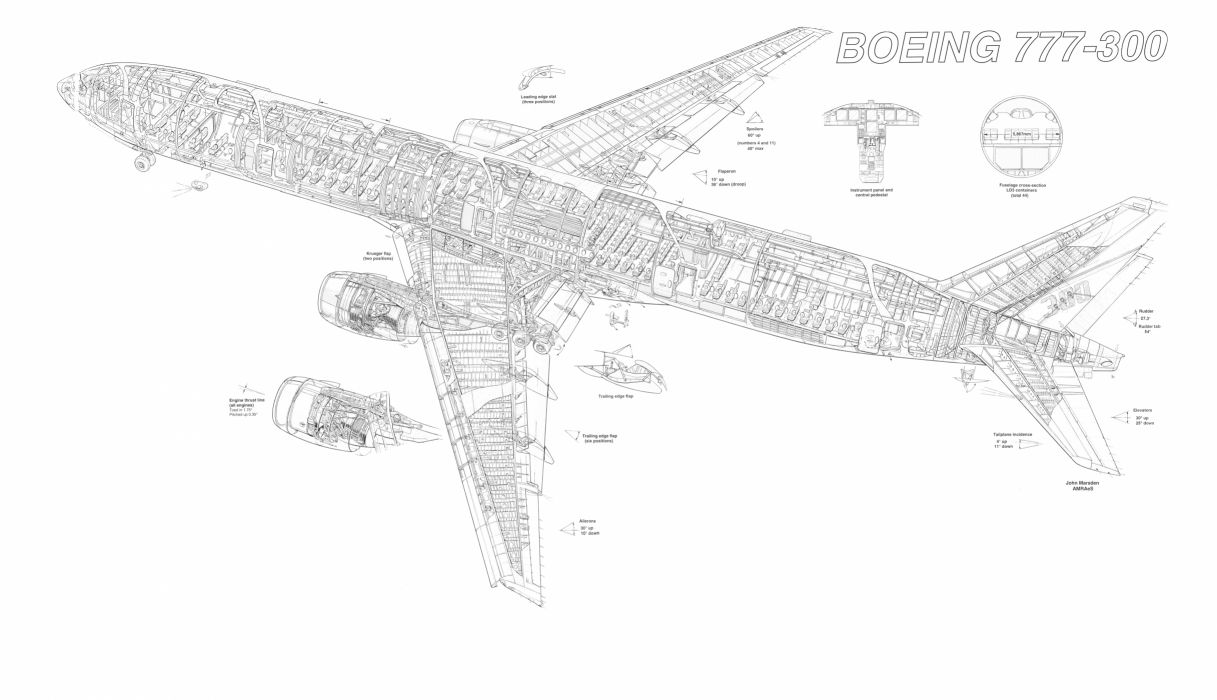 BOEING 777 airliner aircraft airplane plane jet (22) wallpaper