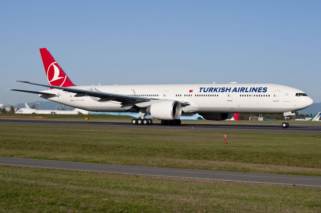 BOEING 777 airliner aircraft airplane plane jet (27) wallpaper