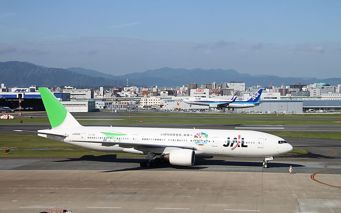 BOEING 777 airliner aircraft airplane plane jet (29) wallpaper