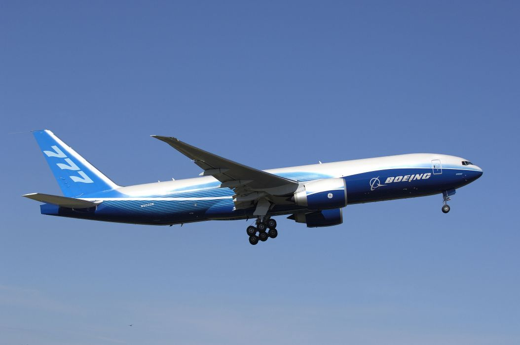 BOEING 777 airliner aircraft airplane plane jet (35) wallpaper