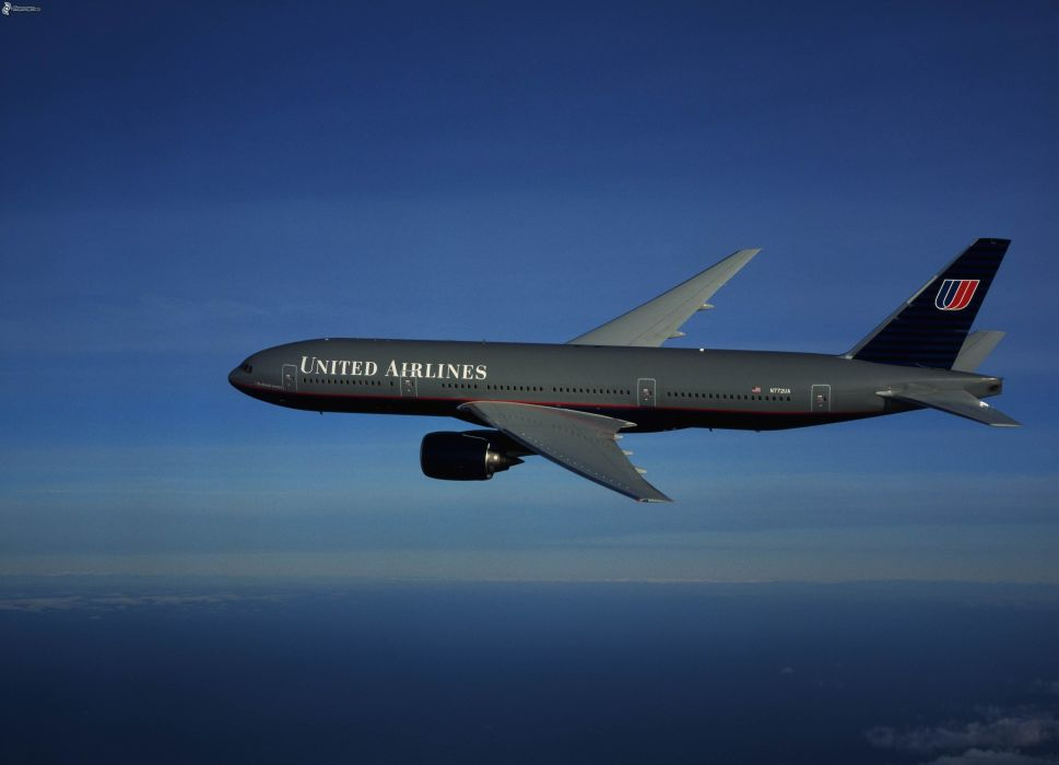 BOEING 777 airliner aircraft airplane plane jet (57) wallpaper