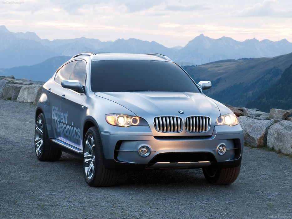 BMW X6 Active Hybrid Concept 2007 wallpaper