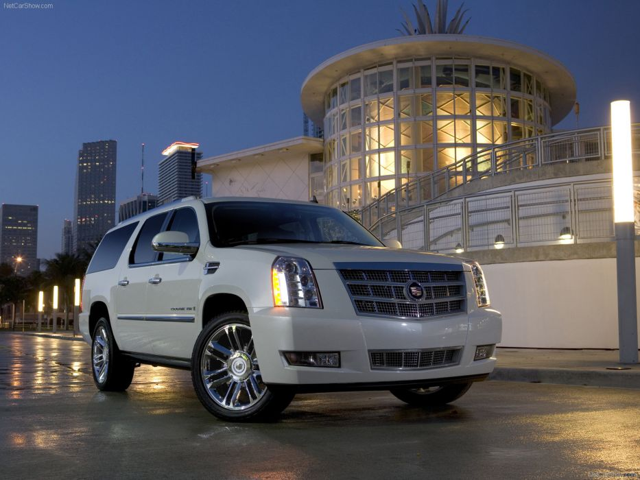 Cadillac Escalade Platinum 2008 wallpaper