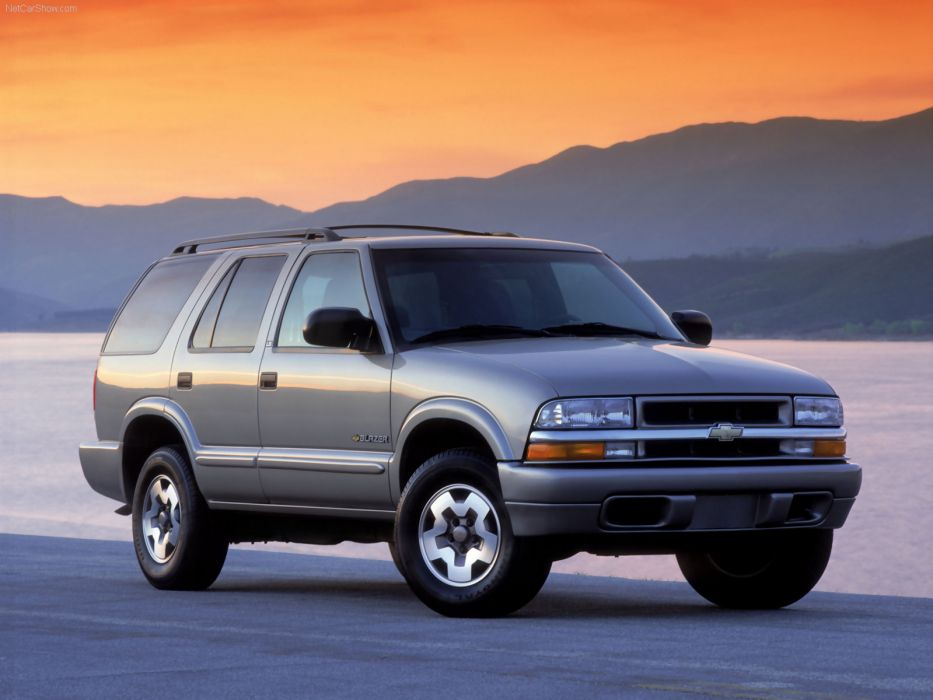 Chevrolet Blazer 2002 wallpaper