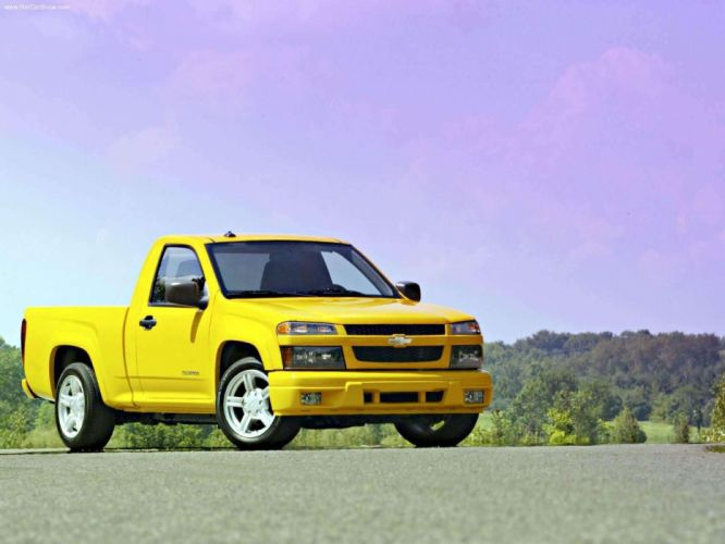 Chevrolet Colorado LS Regular Cab 2004 wallpaper