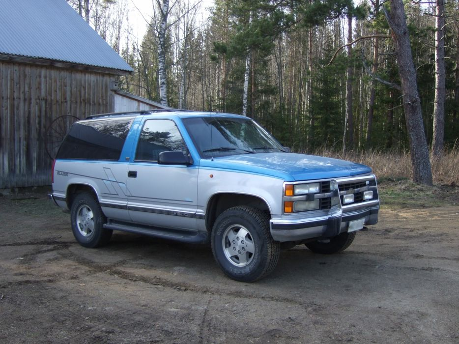 Chevrolet K1500 Blazer 1992 wallpaper