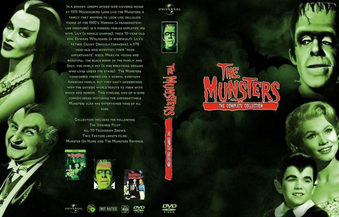 THE-MUNSTERS comedy dark frankenstein munsters halloween television (61) wallpaper
