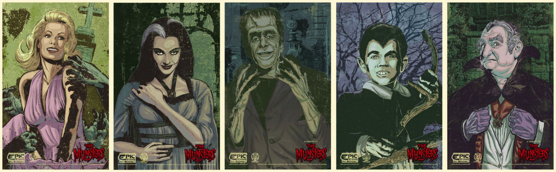 THE-MUNSTERS comedy dark frankenstein munsters halloween television (10) wallpaper
