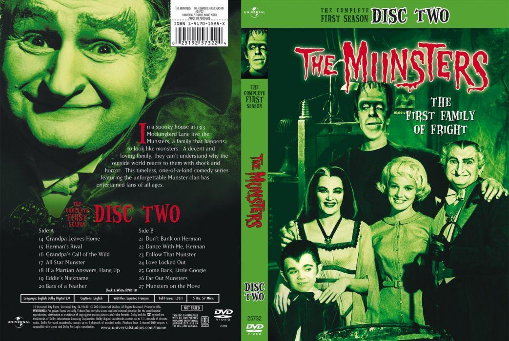 THE-MUNSTERS comedy dark frankenstein munsters halloween television (21) wallpaper
