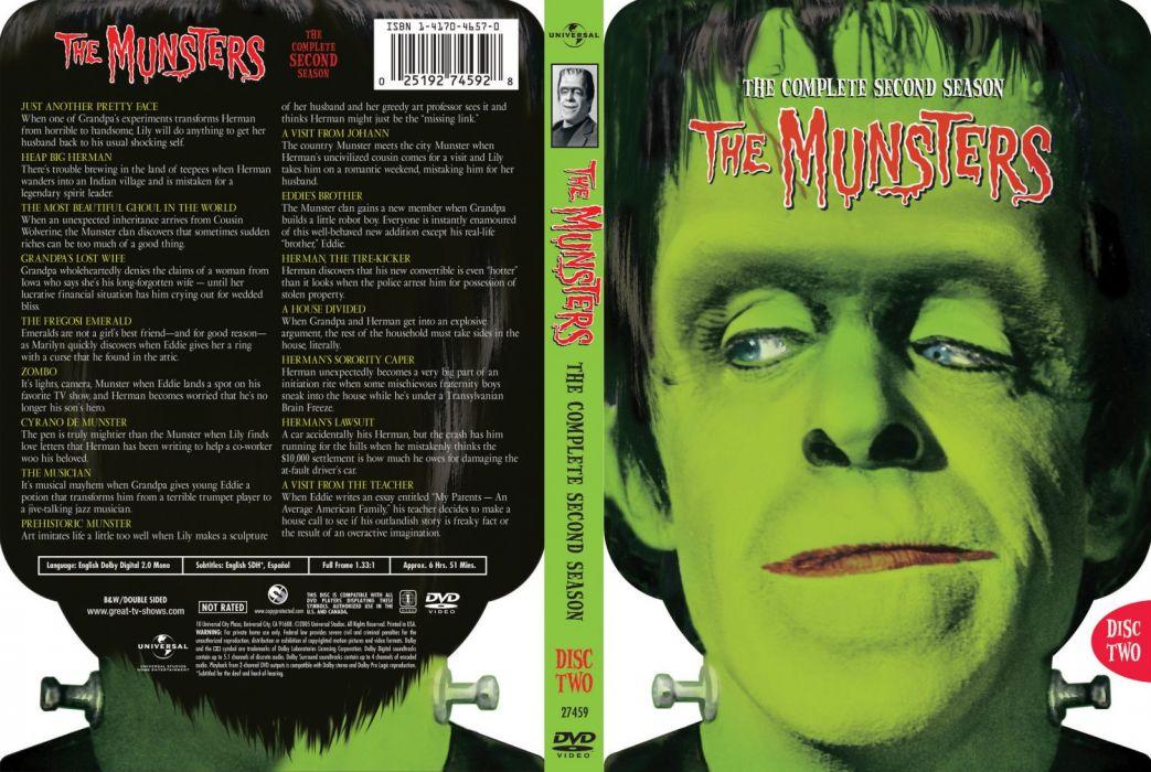 THE-MUNSTERS comedy dark frankenstein munsters halloween television (22) wallpaper