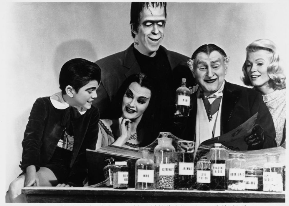 THE-MUNSTERS comedy dark frankenstein munsters halloween television (35) wallpaper