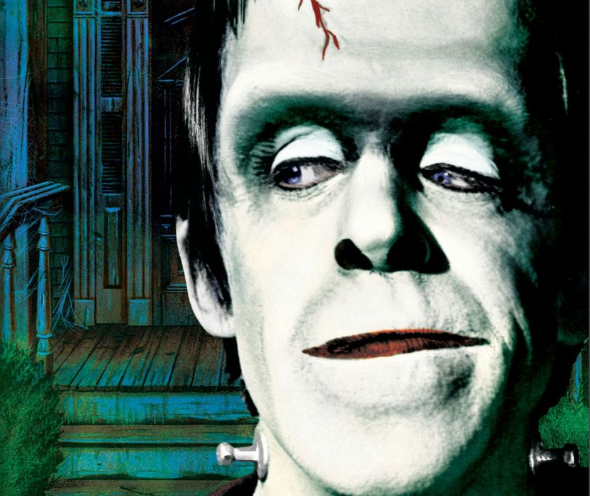 THE-MUNSTERS comedy dark frankenstein munsters halloween television (25) wallpaper