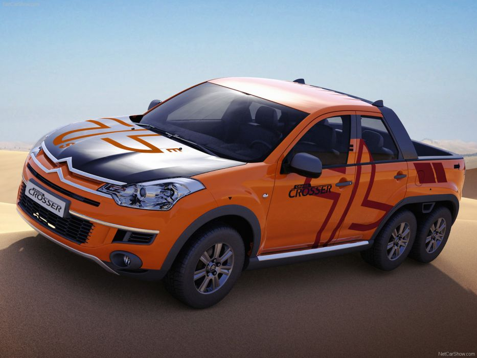 Citroen Cruise Crosser Concept 2007 wallpaper