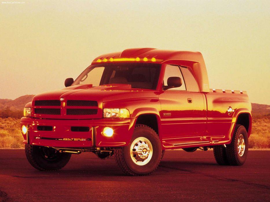 Dodge Big Red Truck Concept 1998 wallpaper