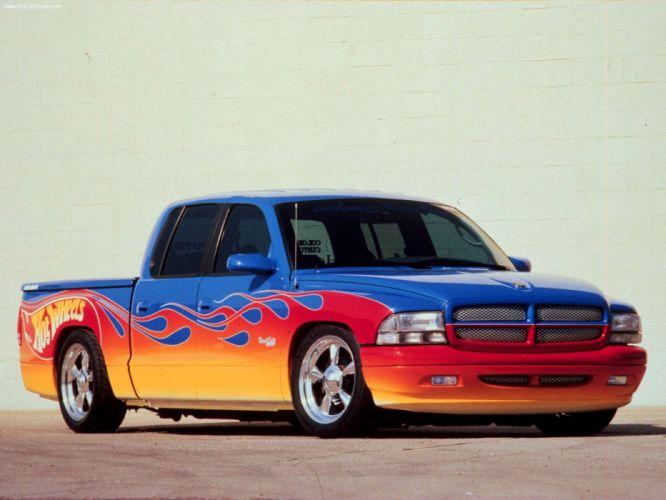 Dodge Hot Wheels Quad Cab Concept 2000 wallpaper