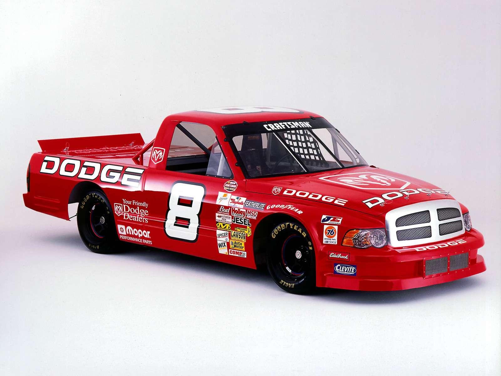 Dodge Ram NASCAR Craftsman Truck Series 2002 wallpaper