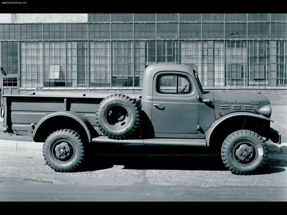 Dodge Ram Power Wagon 1951 wallpaper