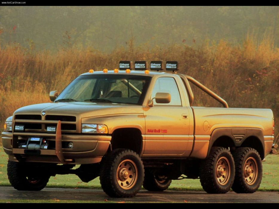 Dodge Ram T-Rex Concept 1997 wallpaper