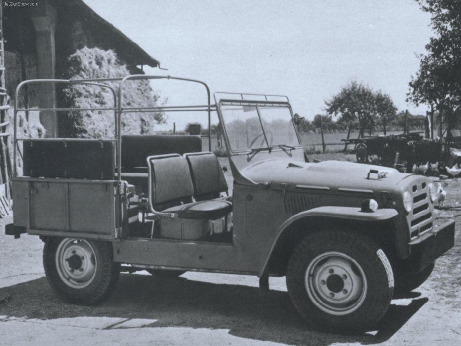 Fiat Campagnola A 1955 wallpaper